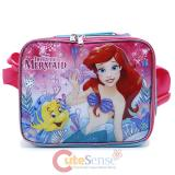 Disney Little Mermaid Ariel School Lunch Bag Insulated Snack Bag Sea Shore