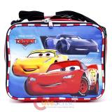 Cars Mcqueen  School Lunch Bag Insulated Snack Box Top Engine