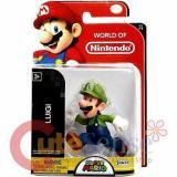 World of Nintendo Super Mario Luigi 2.5-Inch Mini Figure