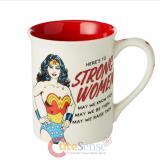 Wonder Woman Mug Strong Woman