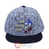 Sonic The Hedgehog Youth Snapback Hat GR
