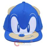 Sonic The Hedgehog Youth Snapback Hat Face