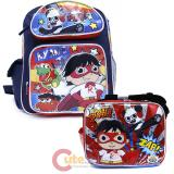 Ryans World 12in School Backpack Lunch Bag 2pc Set
