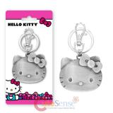 Hello Kitty Face Pewter Key Chain