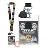 Star Wars Lanyard with Darth Vader Dangle