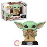 POP Star Wars Mandalorian The Child with Frog