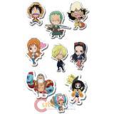 One Piece Sticker Puffy