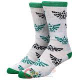 Nintendo Zelda Athletic Crew Socks