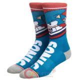 Sega Sonic Athletic Crew Sock
