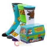 Scooby Doo Mystery Machine 3 Pack of Crew Socks