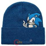 Sonic The Hedgehog Beanie Peek a Boo