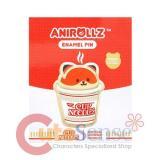 Anirollz Cup Noodles Foxiroll Enamel Pin