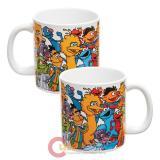 Sesame Friends Mug