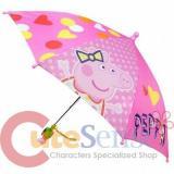 Nick Jr Peppa Pig  Kids Umbrella with 3D Figure Handle