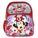 Disney Minnie Mouse School Backpack 12in Bag Happy Bow