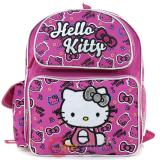 Sanrio Hello Kitty Small School Backpack 12in Bag Pink AOP