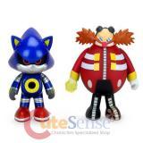Sonic Vinyl 2 Pack Eggman Metal Sonic