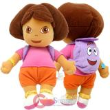 "Dora the Exlpore Dora  Plush Toy-12"" Soft Stuffed Toy"