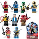 Mega Bloks Power Rangers Super Samurai Figure Series 2 -Random Pack