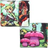 The Legend of Zelda Minish Cap Canvas Wallet