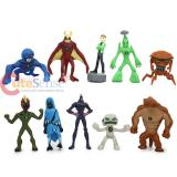 Ben 10 Alien Force Mini Figure Set 10pc