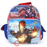 "Marvle IronMan 3 School Backpack  Medium 12""  Bag : Iron Patriot"