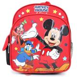 "Disney Mickey Mouse Friends School Backpack10"" Small Toddler Bag"