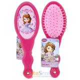Sofia The First Hair Brush Pink Hair Accessory