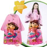Dora the Explorer Dora  Throw Blanket with Sleeves -Kids Size