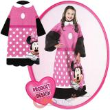 Disney  Minnie Mouse Pink Bow  Throw Blanket with Sleeves -Kids Size