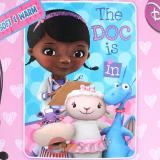 "Disney Jr. Doc Mcstuffins Dottie  Microfiber Plush Throw Blanket : Twin ""WE CARE TOGETHER"""