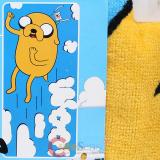Adventure Time Finn and Jake  Beach Towel Bath Towel -Woo