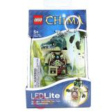 Lego Legends of Chima Cragger LED Light Figure Keychain