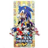Sega Sonic Heroes  Cell Phone Straps Phone Charm 5pc Set