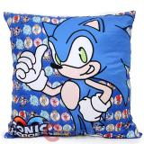 Sega Sonic Heroes Sonic  Silk Printing Cushion 15in Pillow