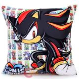 Sega Sonic Heroes Shadow Silk Printing Cushion 15in Pillow
