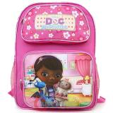 "Disney Jr. Doc Mcstuffins Medium  School Backpack 14"" Book Bag"