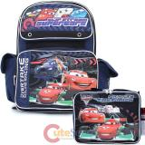 Cars Large School Backpack and Lunch Bag Set with Francesco -OverTrack
