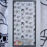 One Piece Straw Hat Pirates Jolly Roger Beach Towel ,Cotton  Bath Towel