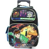 "Ben 10 Alien Force Roller School  Backpack  16"" Large Bag"