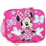 Disney Minnie Mouse Pink bow  School Insulated Lunch Bag