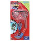 Marvel Spiderman 3 Pc Dive Set-  Mask, Snorkel, Dive Stick Snorkeling Set