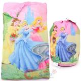 Disney Princess Kids  Sleeping Bag Slumber Bag with Carry Backpack