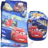 Disney Cars Mcqueen  Kids  Sleeping Bag Slumber Bag with Carry Backpack