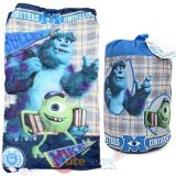 Monsters University Kids  Sleeping Bag Slumber Bag with Carry Backpack