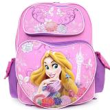 "Disney Princess Tangled Rapunzel School Backpack 16"" Large Bag -Beauty of Light"