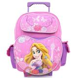 "Disney Princess Tangled Rapunzel School  Backpack 16"" Roller Bag-Beauty of Light"