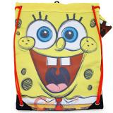 Sponbebob Big Face Cinch Bag Draw String Backpack Sling Shoulder Bag