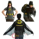 Batman 'Suit Up' Hooded Backpack with Wings  , Costume  Bag