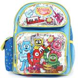 Yo Gabba Gabba School Backpack -12in Medium